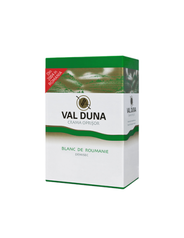 VAL DUNA, CRAMA OPRISOR, BAG-in-BOX Blanc de Roumanie 3L