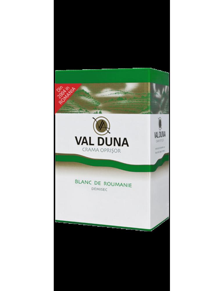 VAL DUNA, CRAMA OPRISOR, BAG-in-BOX Blanc de Roumanie 3L