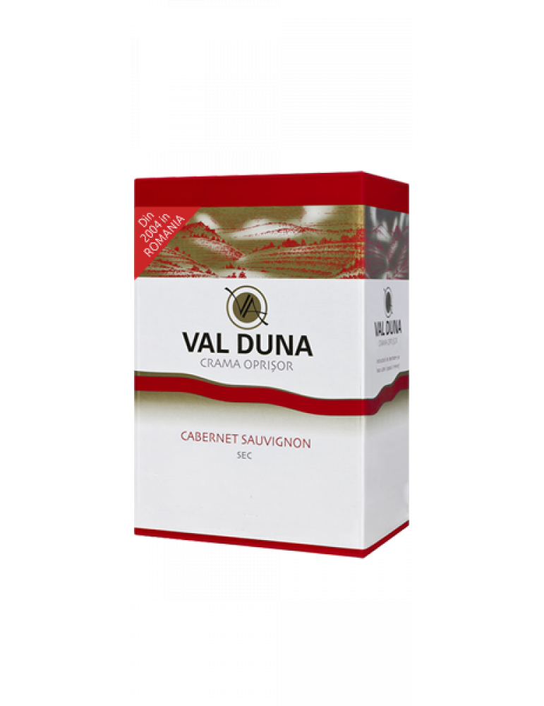 VAL DUNA, CRAMA OPRISOR, BAG-in-BOX Cabernet Sauvignon 3L