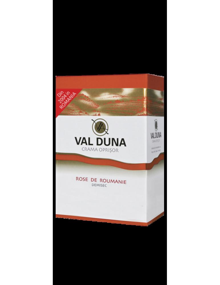 VAL DUNA, CRAMA OPRISOR, BAG-in-BOX Rose de Roumanie 3L