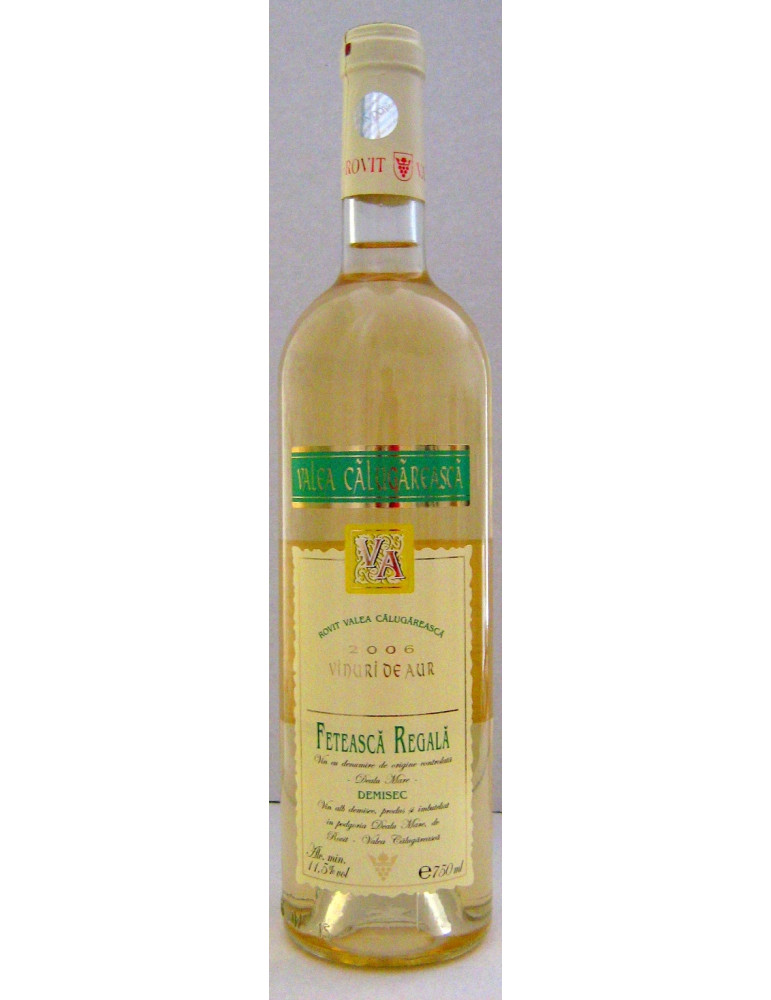 Vinuri de Aur, Rovit, Feteasca Regala