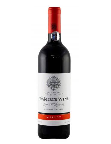 Daniel's Wine , Merlot 2014 Limited Edition